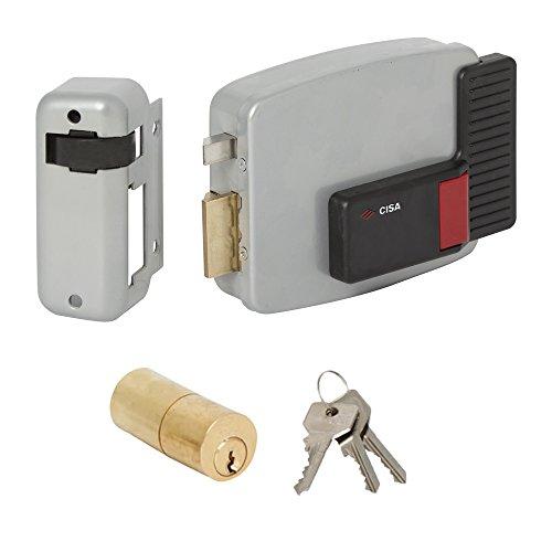 Cisa 11520 20 Cerradura Eléctrica Para Puerta   50 mm , Entrada Izqui