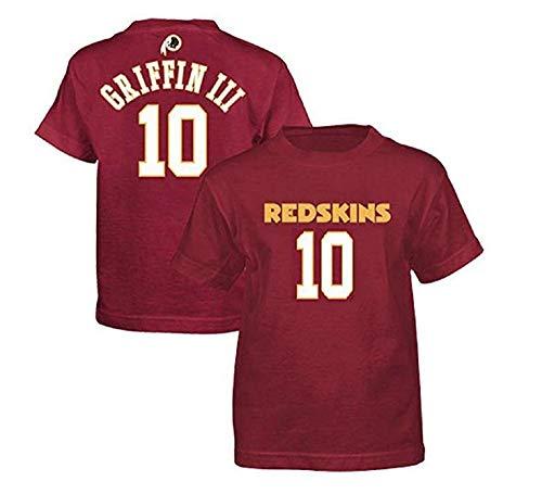 Outerstuff T-Shirt Robert Griffin Washington, Redskins, für Jugendliche, mit Namen und Nummer, Gr. XL (18-20)