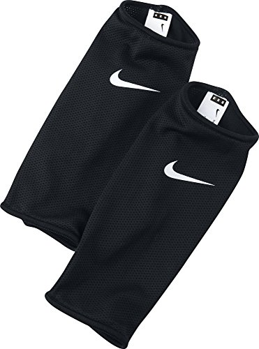 Nike Guard Lock Sleeve 1 Paar Schienbeinschonerhalter, schwarz/Weiß, S