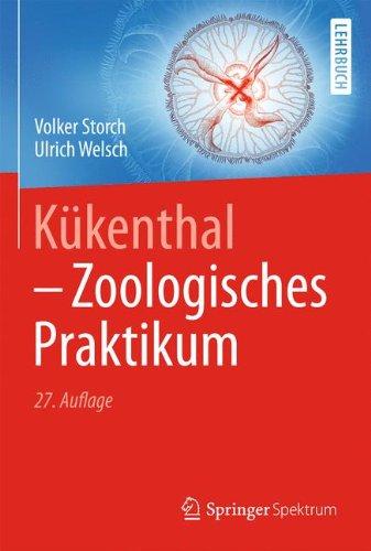 Kükenthal - Zoologisches Praktikum