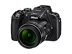Nikon Coolpix P610 16MP Point And Shoot Digital Camera with 60x Optical Zoom (Black)