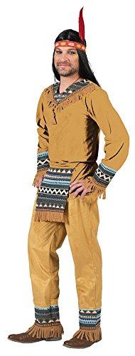 Indianer Cherokee Herren Kostüm Gr. 52 54
