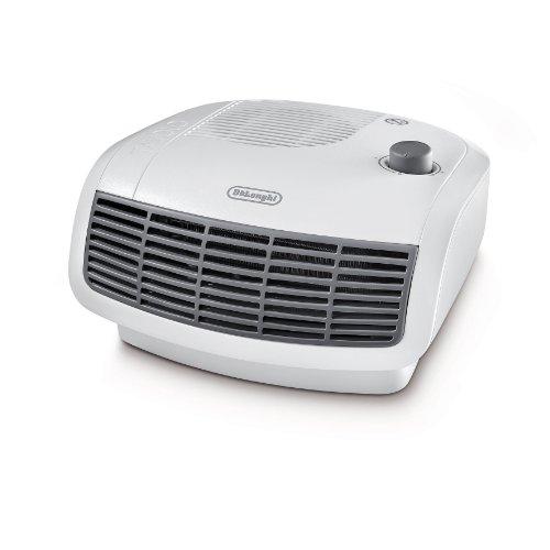 De'Longhi HTF3020 Calefactor termoventilador, habitaciones de hasta 60 m³, termostato regulable y de seguridad, 2000 W, Blanco