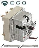 EGO Thermostat de sécurité 55.32545.800compatible avec Bartscher, Baron, Cook Max, Sonde Température max. 245°C Indianapolis 3broches diamètre 4mm