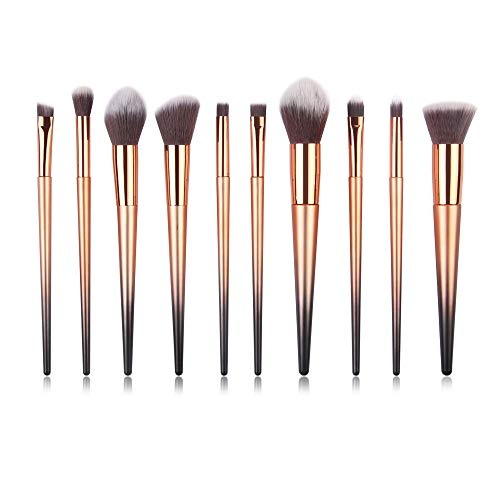 Watopi 10PCS Maquillage Fondation Sourcils Eyeliner Blush Cosmétiques Correcteur