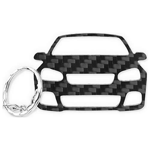 Preisvergleich Produktbild ACF VW Schlüssel-Anhänger / echtes Carbon / Geschenk-Idee / Tuning / VW Golf 5 R32 GTI TDI