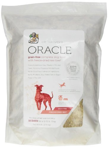 dr-harveys-oracle-freeze-dried-raw-complete-diet-for-dogs-grain-free-beef-6-pound-bag-by-healthy-for