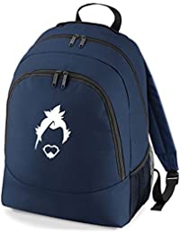 Embroidered Overwatch Hanzo gamers rucksack backpack PS4 XBOX (navy)