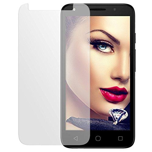 mtb more energy® Protector de pantalla de vidrio templado para Alcatel One Touch Pixi 4 (5045X, 5.0'') - 9H - Cristal Tempered Glass