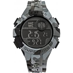 Unisex Superdry Radar Alarm Chronograph Watch SYG193BE