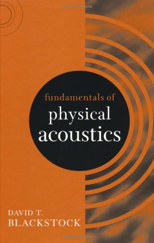Download PDF Fundamentals of Physical Acoustics (Wiley