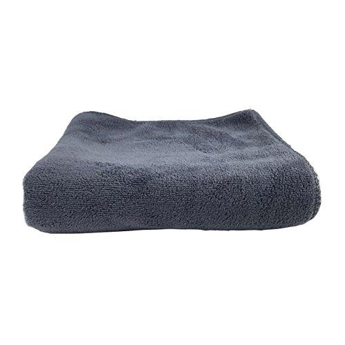 lennonsi Mikrofaser Reinigungstücher Bilayer Microfasertuch Auto Poliertücher Trockentuch Putztuch 30 * 30cm Grau