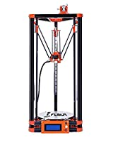 FLSUN 3d Printer Delta Kossel Diy Kit with Large 3d Printing Size Updated Nuzzle System Heated Bed Auto Leveling (Linear Guide)