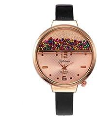 Tianya -   Reloj de Pulsera S-1616   Reloj de Diseño Retro de Alta Calidad Y Calidad   Reloj de Cuero Para…