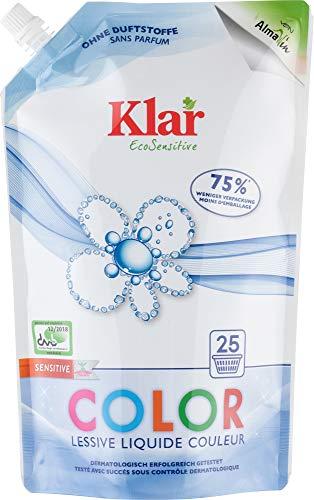 Klar Bio Color Waschmittel (6 x 1,50 l)