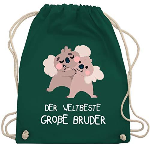 Geschwisterliebe Kind - Weltbeste große Bruder - Koala - Unisize - Dunkelgrün - WM110 - Turnbeutel & Gym Bag