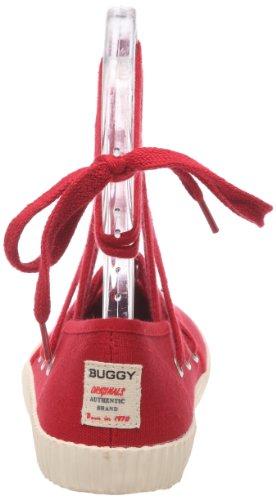Buggy Junkho, Damen Ballerinas Rot (Framboise)