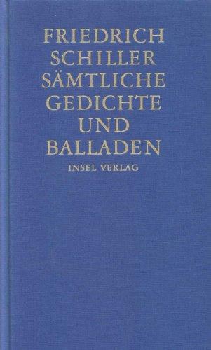 Sämtliche Gedichte und Balladen