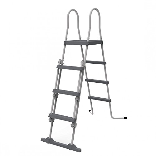 JILONG - 29R150 - Escalera con Dispositivo de Seguridad, 122 cm, Gris