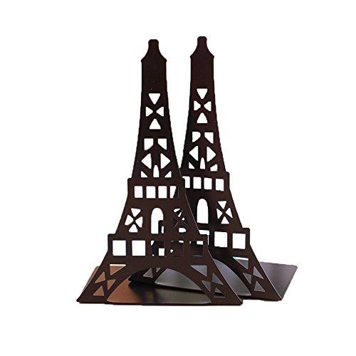 super44day-paire-metal-serre-livres-presse-livre-forme-noir-tower-acier-inox-pour-note-bibliotheque-