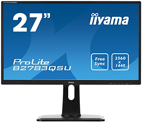 Iiyama Prolite LCD B2783QSU-B1 27-Inch diverse Quad HD- Monitor - Black UK