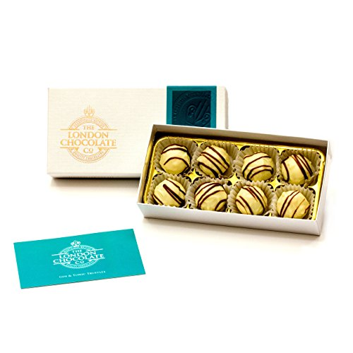 The London Chocolate Company Gin and Tonic Truffles Gift Box, 110g