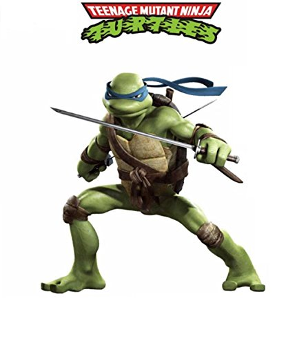 (Oulique XXL Sticker Teenage Mutant Ninja Turtles Aufkleber Wandsticker Leonardo)