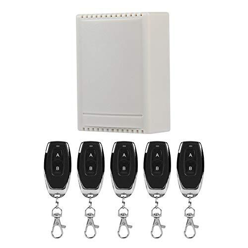 Control Remoto inalámbrico, Samrt, Switch Set, Universal, para interruptores de iluminación de...