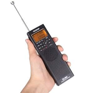 Tecsun PL-360 Radio Numérique Portable Récepteur FM AM et Ondes Courtes Mini Radio