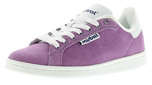 new-ladies-womens-purple-mistral-wesson-lace-ups-trainers-purple-uk-size-5