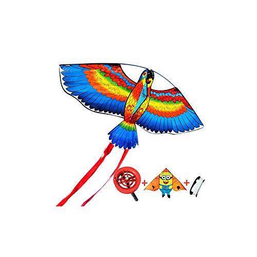 Yougou01 Drachen, Cartoon-Stil Ultra-realistischer Design-Stil, exquisites Aussehen, atmosphärisches Aussehen, kann als Geschenk verwendet Werden (Papageienstil) (Color : Parrot Style) -