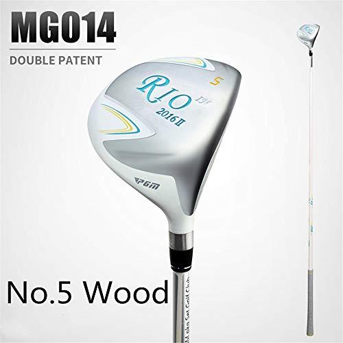 HJJGRASS PGM Golf Club Right Hand Hybrid und Utility Driver Fairway-Holz (1-Holz, 3-Holz, 5-Holz) Graphitschaft für Junior- bis Pro-Spieler,5wood -
