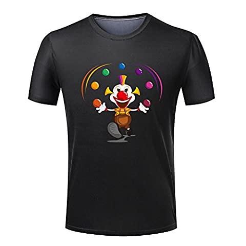 The clown in the show for Men 's T-shirt-XL