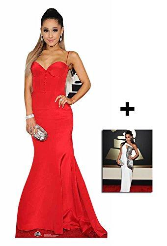 Fan Pack - Ariana Grande Lebensgrosse Pappfiguren / Stehplatzinhaber / Aufsteller - Enthält 8X10 (25X20Cm) starfoto