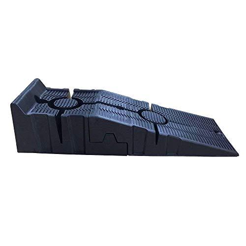 Preisvergleich Produktbild Katsu, 1 Paar hoch belastungsfähige Autorampen aus Kunststoff für Garage, Werkstatt