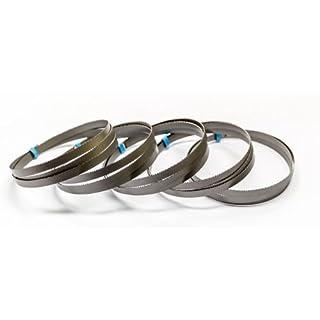 5 x Bimetall Sägeband 733 x 13 x 0,5 mm mit 14/18 ZpZ für Akku Bandsäge Bosch GCB 18 V-Li Prof.