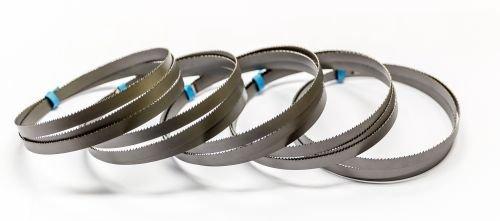 5 cintas de sierra bimetálica 835 x 13 x 0,5 mm con 14/18 ZpZ para sierra de cinta Metabo MBS 18 LTX 2.5