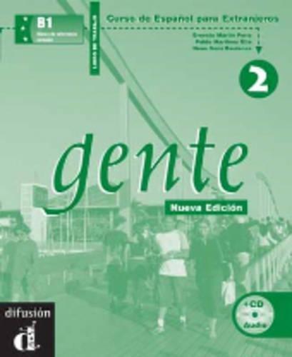 Gente 2 : Libro de trabajo (1CD audio)