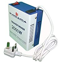 PARAL KODAMA KT2000W Transformer 220V to 110V 2000W Power Converter 220V to 110V 2000 Watt