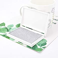 WowObjects Born Baby Handprint Footprint Pad Safe Clean Non-Toxic Clean Touch Ink Pad Po Easy to Operate Hand Foot Print Pad
