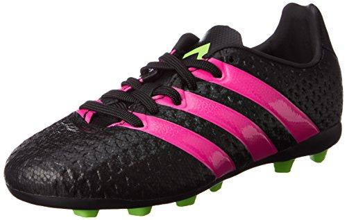 Adidas ACE 16.4 FxG J Fussballschuhe Outdoor Schuhe Fuball CBlack Kinder, Schwarz, 31 EU