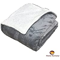 Sherpa Throws Blanket Double Bed Size Flannel Fleece Luxury Sofa Bed Large  Soft Warm Throws ( · See Colour Options 532865818