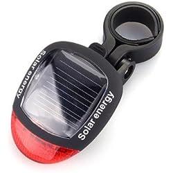 Lámpara Trasera 2 LED Luz Rojo 3 Modos para Bicicleta Bici Ciclismo