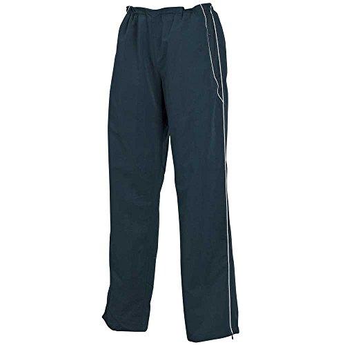 Tombo Teamsport Pantalon de jogging doublé à passepoil ligné ouvert pour femme Noir/bleu marine Navy/Navy/White piping