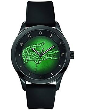 Lacoste Damen-Armbanduhr VICTORIA Analog Quarz Silikon 2000917