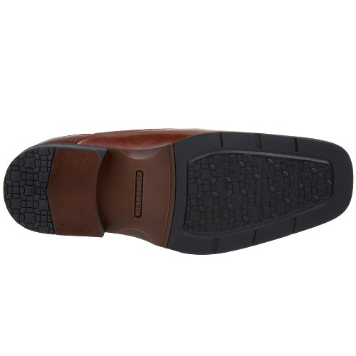Florsheim Corvell Eckig Leder Slipper Brown