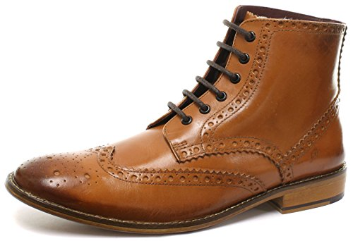 London Brogues Gatsby Ciao, Signore, Lord Stiefel Tan