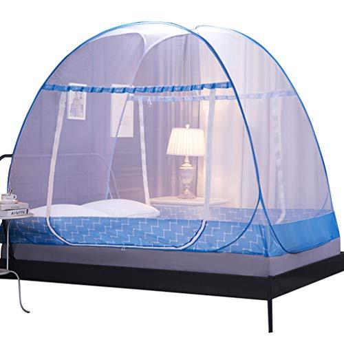 YiiJee Praktisch Moskitonetz Bett Groß Mückennetz Doppelbett Rechteckiger Netzvorhang Reise (Stil 7, 200)