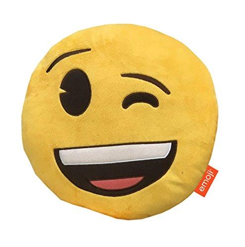 Emoji-Kissen, Plüsch Blinzelnde Multi