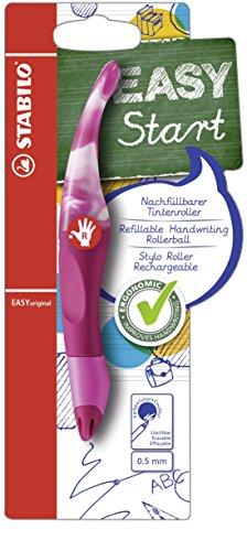 Ergonomischer Tintenroller - STABILO EASYoriginal Marbled Colors Edition in beere - Schreibfarbe...